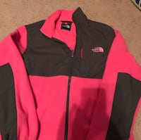 2 North Face Jackets one pink/Black and one blue/black worn a few times. $45each or both for $80 Martinsburg, 25403