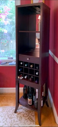 "Tall Wine Tower Bar Cabinet 68"" H x 17.3"" W x 15.3"" D  Washington, 20016"