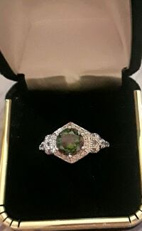 925 sterling silver Mystic rainbow ring Palmdale, 93550