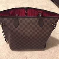 brown Louis Vuitton monogram leather handbag New York, 10459