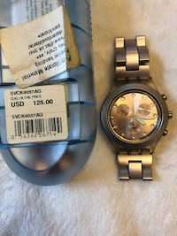 Swatch watch - light purple Montréal, H2L 3T5