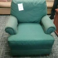 Green  club chair  Oakville, L6L 5N1