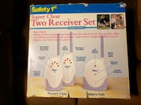 Safety First  2 Receiver Set Nursery Monitor  Peoria, 85381