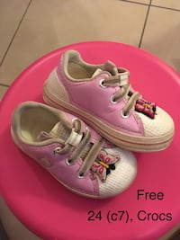 Sneakers for girls C7 (24),Crocs  Будапешт, 1037