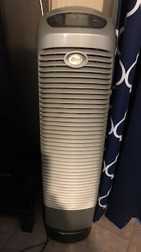 Grey tower Hunter Pure Air Purifier Quiet with Remote Montclair, 91763