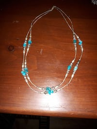 blue beaded necklace Belleville, K8N 4Y9