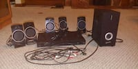 black home theater system 303 mi