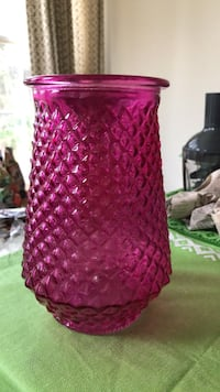 Pink Glass Vase Germantown, 20874