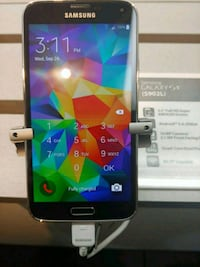 black Samsung Galaxy android smartphone Round Lake Beach, 60073