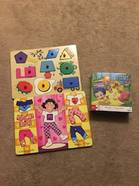 Melissa and doug wooden puzzles. Mississauga, L5B 4A1