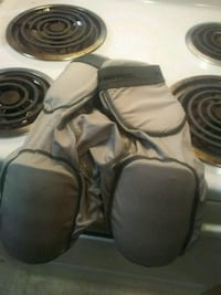 football girdle and knee pads with all pads includ