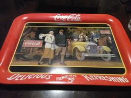1987 COCA COLA COKE TRAY