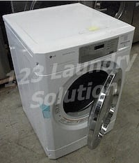 LG Commercial Single Card Gas Dryer Small Apartment Residential GD1329CGS La Habra