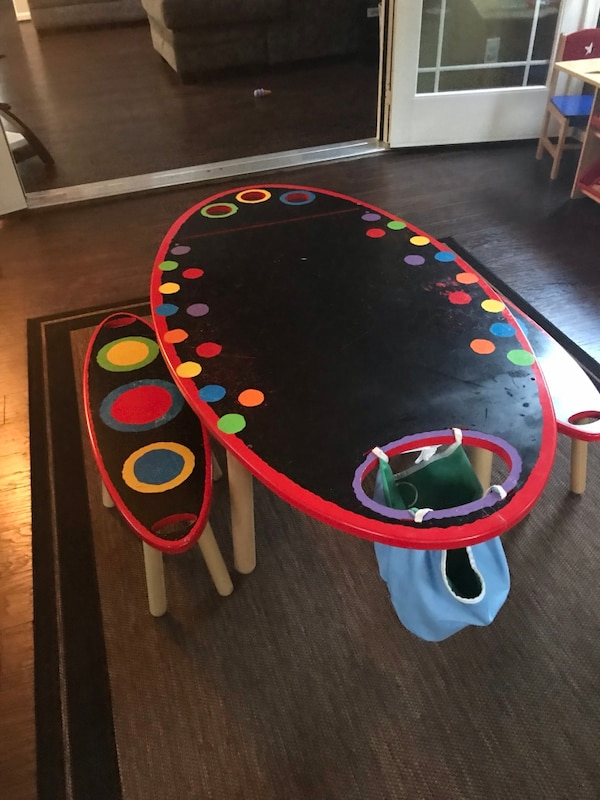 Kids Craft Table 3