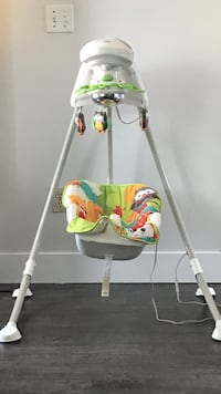 baby's white Fisher-Price cradle 'n swing Surrey, V3W 6E9