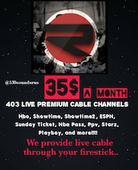 405 Live Cable Channels for 35$$ a month Largo, 20774