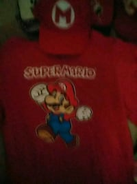 Super mario t shirt. With matching hat nintendo St. Catharines, L2P 1P3