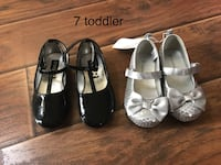 Girls size 7 shoes new  Taylors, 29687