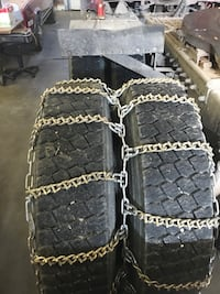 Tire chains for commercial truck