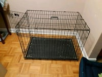 black metal folding dog crate Toronto, M6M