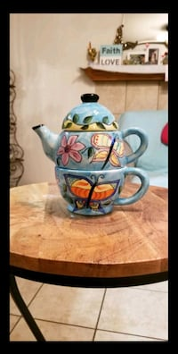 Ceramic pot with coffe cup Bakersfield, 93308