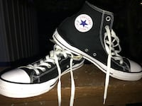 pair of black Converse All Star high-top sneakers Johnson County, 66061