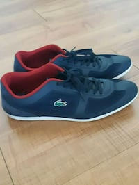 pair of blue-and-red Lacoste sneakers Fairfax, 22030