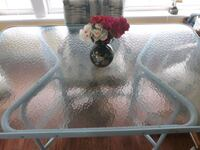 Glass top patio table Plant City, 33565