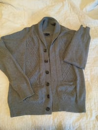Gray button-up jacket Calgary, T2T 4M5