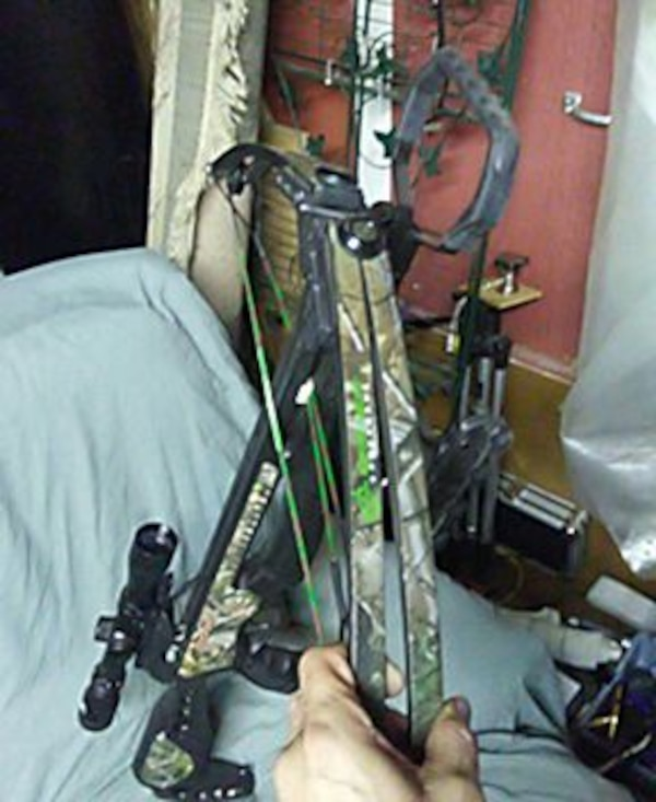 Barnett crossbow Jackal with upgraded site with cr