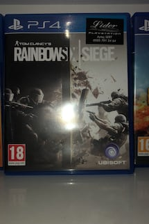 Tom clancy's rainvows six siege Ps4 oyun