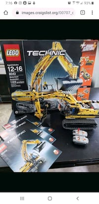 Lego motorized excavator with box and manual Alexandria, 22308