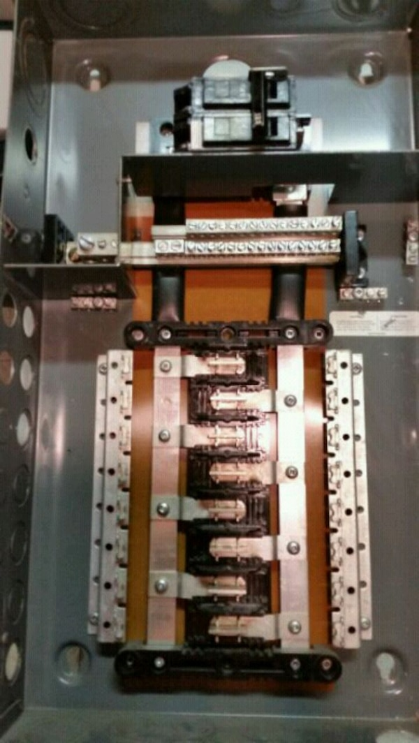 GE Electrical Panel 32 post. on