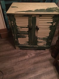 Distressed wood cabinet with shelves  Titusville, 32780