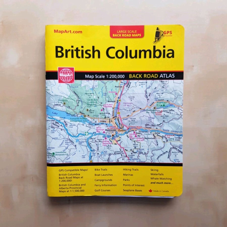 BC Back Road Atlas