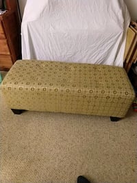 Yellow and brown Ottoman null