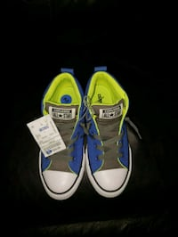 pair of blue Converse All Star low-top sneakers Houston, 77090