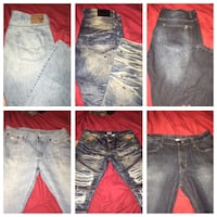 11* pair name brand men jeans size 36/32 Martinsburg, 25404