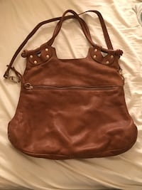 women's brown leather shoulder bag Killeen, 76549