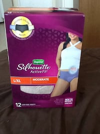 Depends Silhouette Active Fit Toronto, M1L