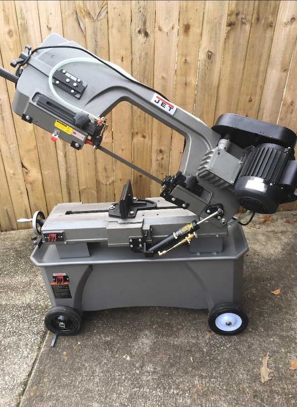 "New Bandsaw JET 7-12"" horizontal Vertical Cuts Tools Equipment wood cutting"