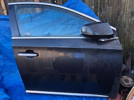 Right Side Front Door with Right Mirror Cadillac XTS 2013