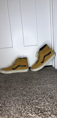High top Vans in tan and black South Jordan, 84095