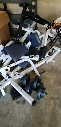 Weight set with bench Dumfries, 22025