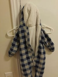 baby's blue and white full zip footies Dartmouth, B2Y 1W2