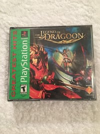 The Legend of Dragoon, 4 disc.