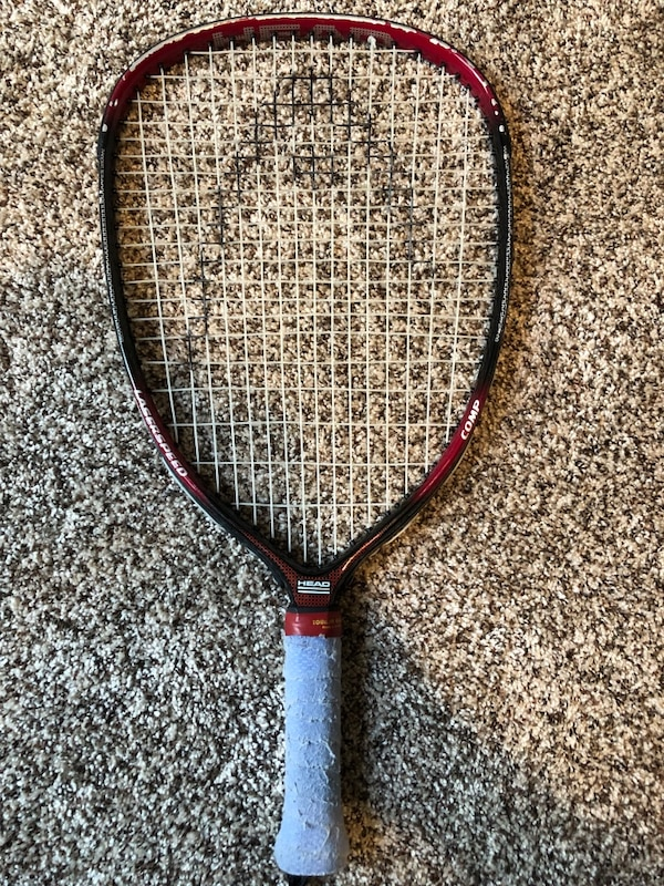 Head Racquet / Burgundy and Black