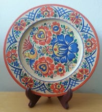 Signed Handcrafted Wooden Plate  Mississauga, L5N 2X2