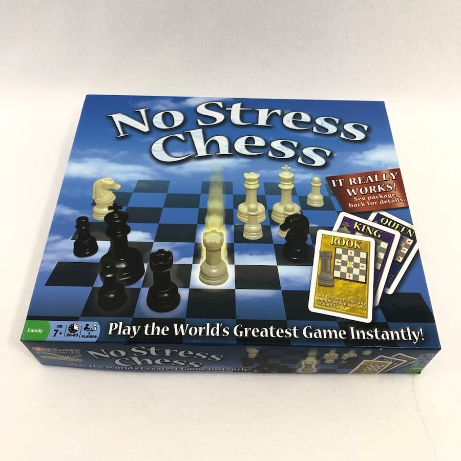 No Stress Chess Family Complete Board Game 1552eb81-5768-43c7-85ab-587f352a7ce3