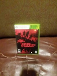 Dead Riptide Xbox 360 game case